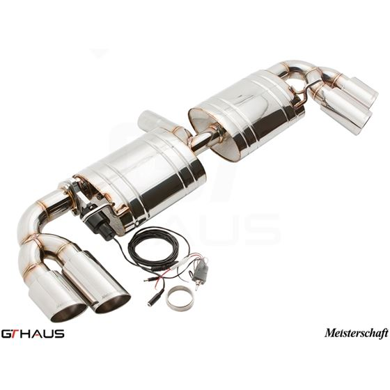 GTHAUS GTC Exhaust (EV Control)- Stainless- AU0331