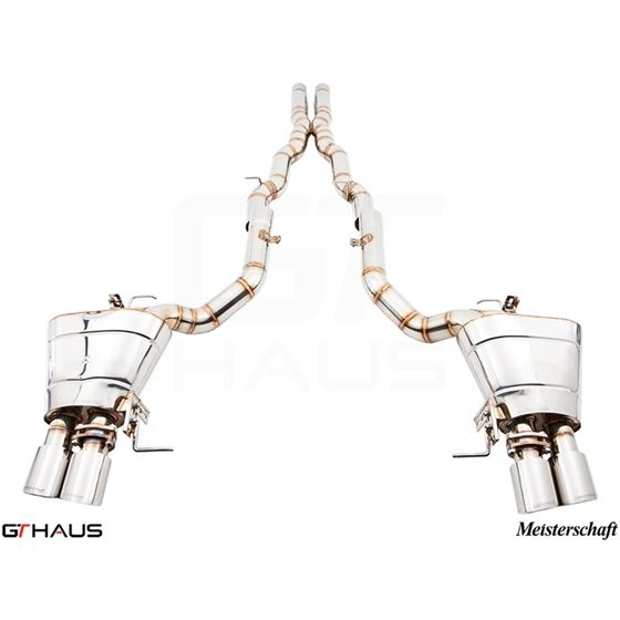GTHAUS GTS Exhaust (Ultimate Performance)- Titaniu
