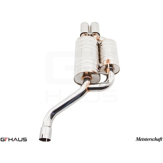GTHAUS GT Racing Exhaust- Stainless- BM0731222