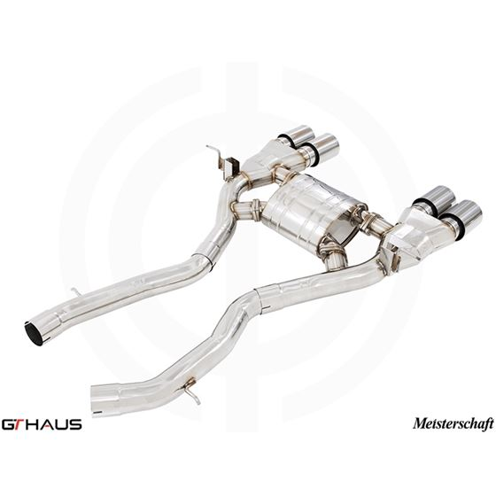 GTHAUS GT Racing Exhaust- Stainless- BM3211206-3