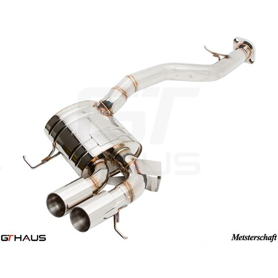 GTHAUS HP Touring Exhaust- Stainless- BM0111101-3