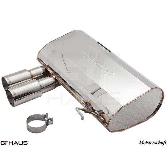 GTHAUS HP Touring Exhaust- Stainless- BM0361101-3
