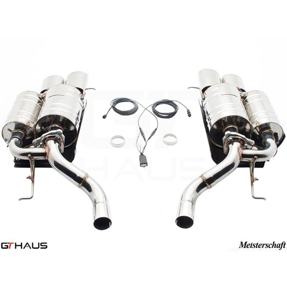 GTHAUS GTC Exhaust (EV Control) AL Shield Included