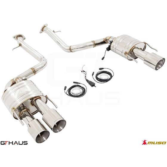 GTHAUS GTC Exhaust (EV Control)- Titanium- LE03226