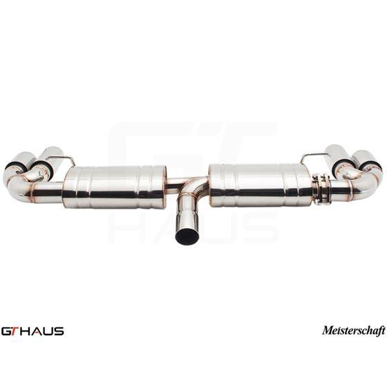 GTHAUS GTS Exhaust Ultimate Racing- Titanium- AU-3