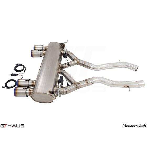 GTHAUS GTC Exhaust (EV Control)- Titanium- BM321-3