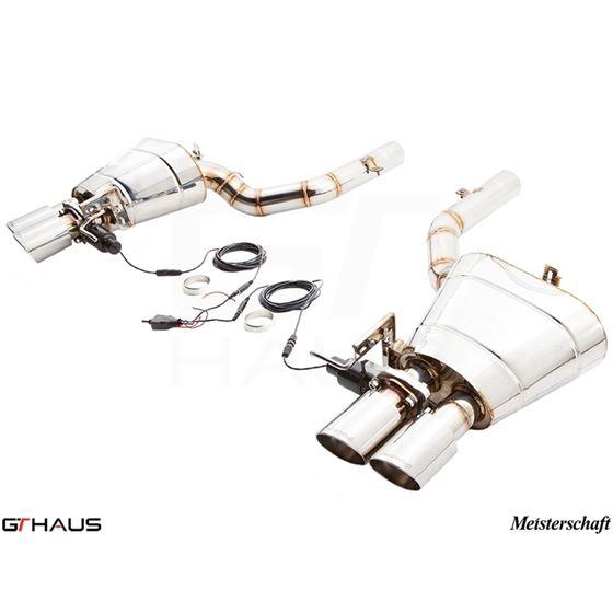 GTHAUS GTC Exhaust (EV Control)- Stainless- BM25-3