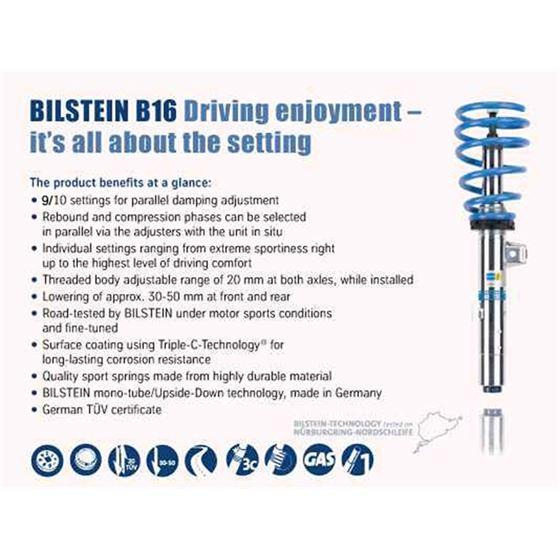 Bilstein B16 (PSS10)-Suspension Kit (48-166560)