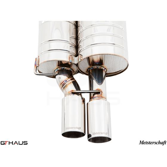 GTHAUS GT Racing Exhaust- Stainless- BM0931201-3