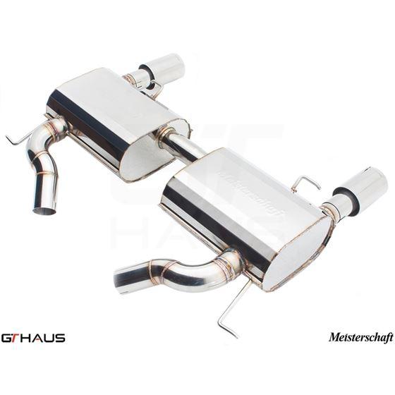GTHAUS GT Racing Exhaust- Stainless- BM0421203-3