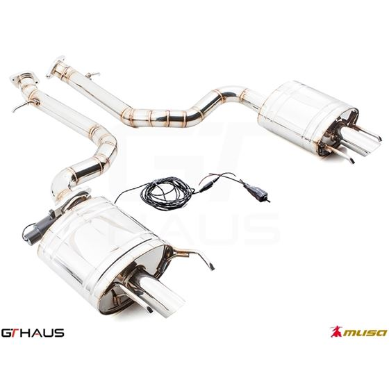 GTHAUS GTC Exhaust (EV Control)- Stainless- LE0311