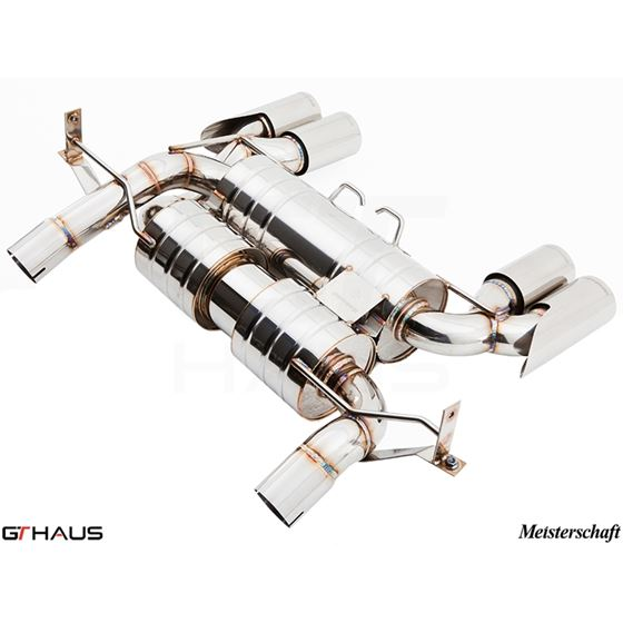 GTHAUS GT Racing Exhaust (Includes SUS SR Pipes)-3