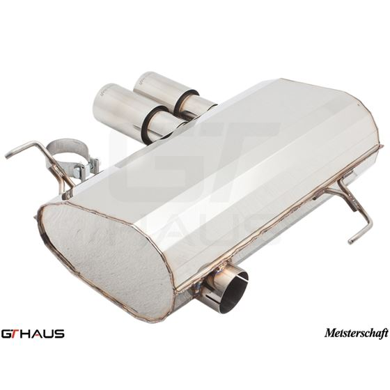 GTHAUS HP Touring Exhaust- Stainless- BM0341101-3