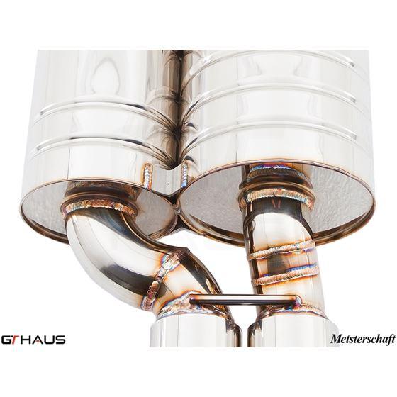 GTHAUS GT Racing Exhaust- Titanium- BM0722222-3
