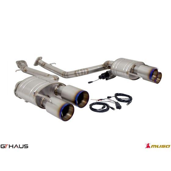 GTHAUS GTC Exhaust (EV Control)- Titanium- LE05226