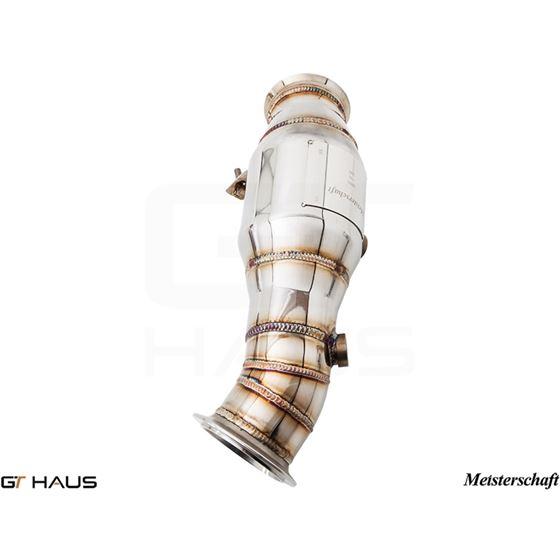 GTHAUS (N55 M235i) Turbo Back Down Pipe - no cat-3