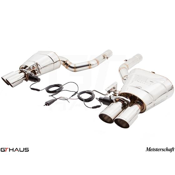 GTHAUS GTC Exhaust (EV Control)- Stainless- BM15-3