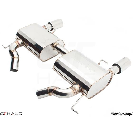 GTHAUS GT Racing Exhaust- Stainless- BM0411203-3