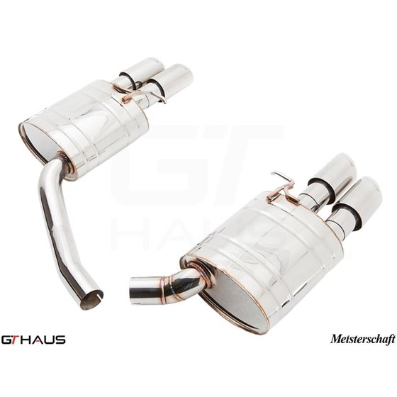 GTHAUS GT Racing Exhaust- Stainless- AU0711204-3