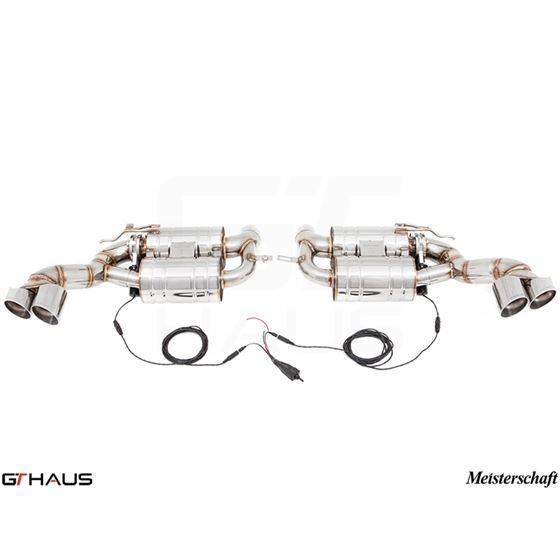 GTHAUS GTC Exhaust (EV Control)- Stainless- BM23-3