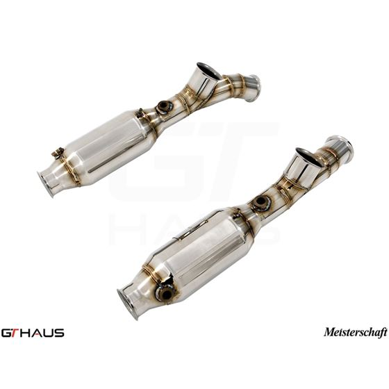 GTHAUS SR cat-bypass pipes- Stainless- LA0223002
