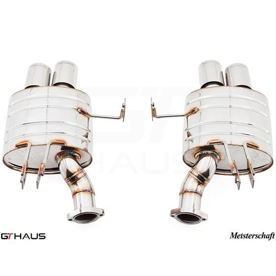 GTHAUS GT Racing Exhaust- Stainless- BM2021204
