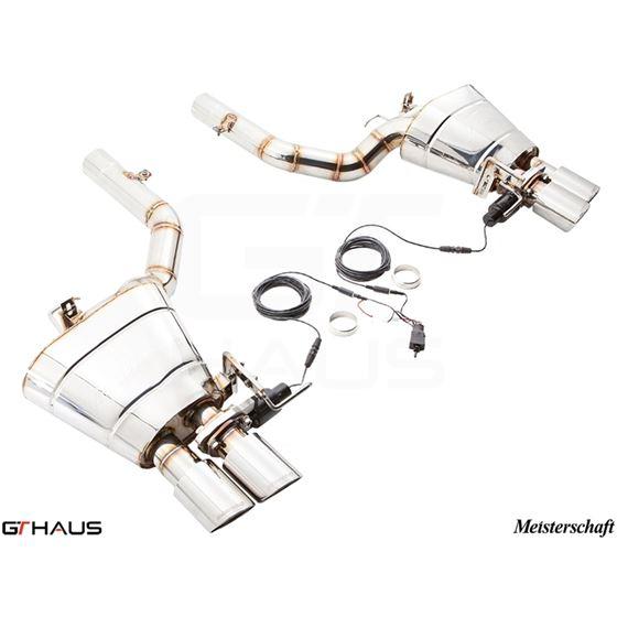GTHAUS GTC Exhaust (EV Control)- Stainless- BM1131