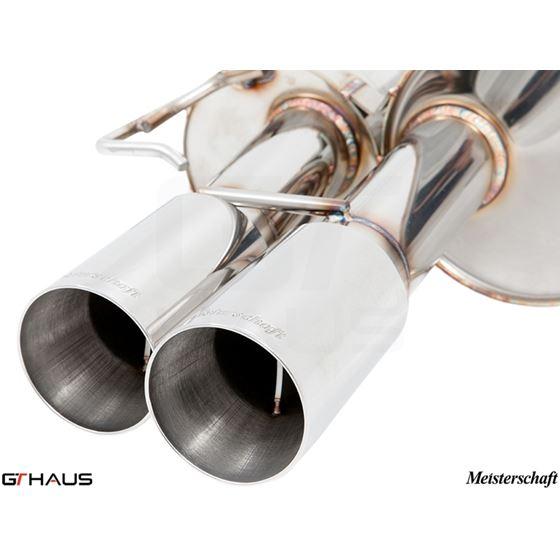 GTHAUS GT Racing Exhaust- Titanium- BM0942201-3