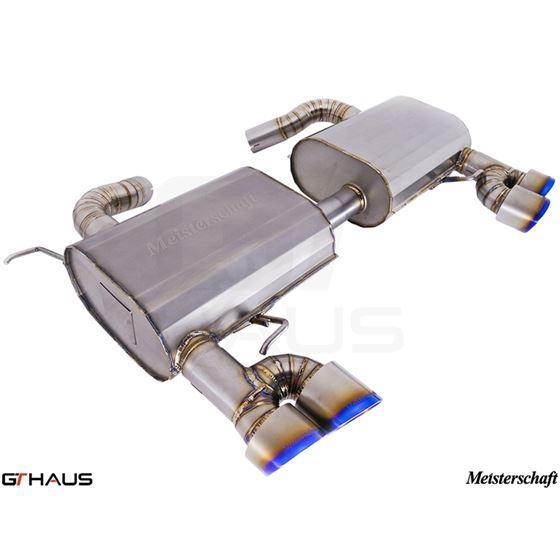 GTHAUS GT Racing Exhaust- Titanium- BM0412204