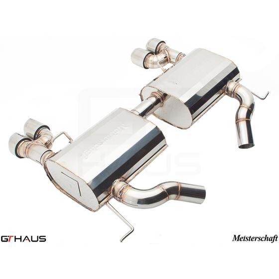 GTHAUS GT Racing Exhaust- Stainless- BM0411204-3