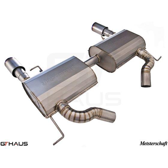 GTHAUS GT Racing Exhaust- Titanium- BM0422202-3