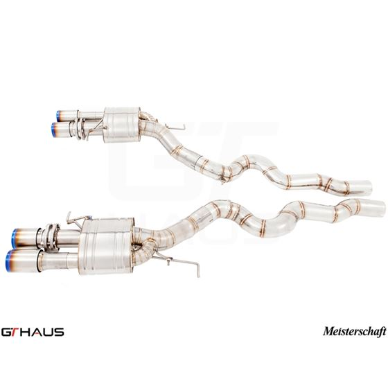 GTHAUS Super Light GT Racing Exhaust (Ti Rear Un-3