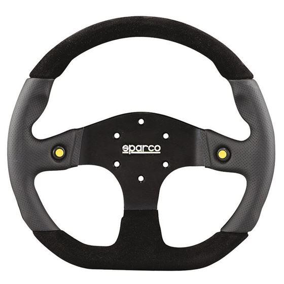 Sparco L999 Mugello Racing Steering Wheel, Black S