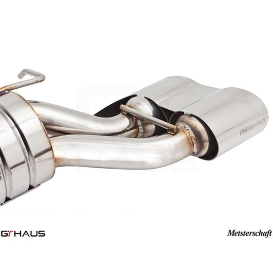 GTHAUS GT Racing Exhaust- Stainless- ME1121217-3