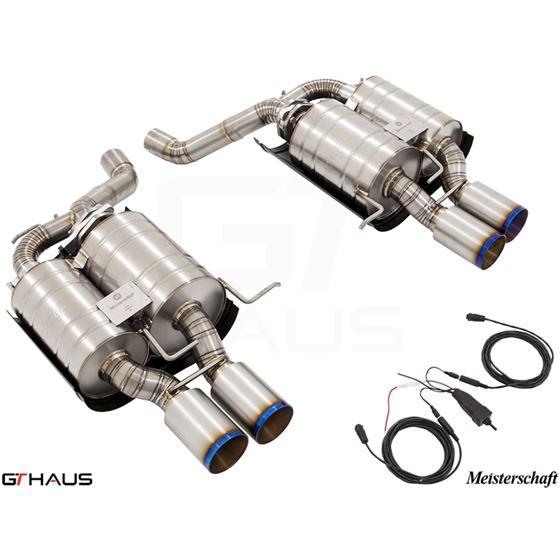 GTHAUS GTC Exhaust (EV Control) AL Shield Included