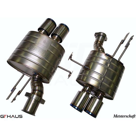 GTHAUS GT Racing Exhaust- Titanium- BM2022204-3