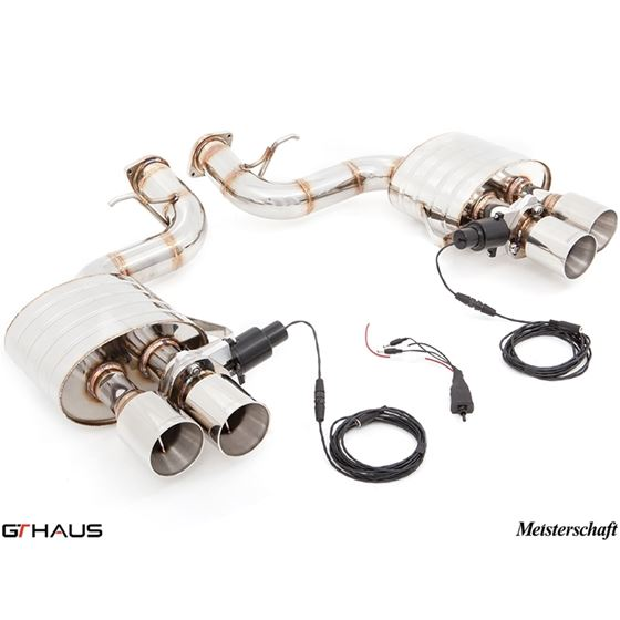 GTHAUS GTC Exhaust (EV Control)- Stainless- FE0211
