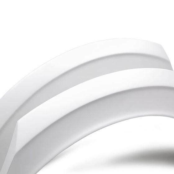 Seibon Fiber Rearglass Bumper with Carbon Accents (RF16HDCV4-TT-GF)