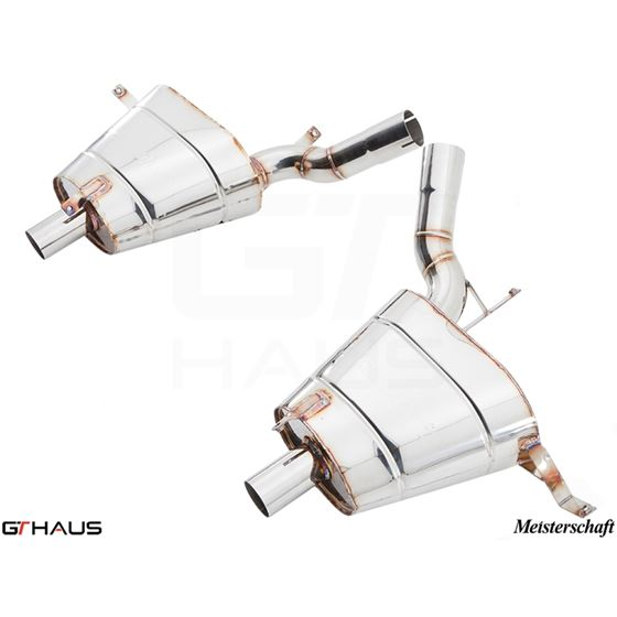 GTHAUS GT Racing Exhaust- Stainless- BM2211200-3