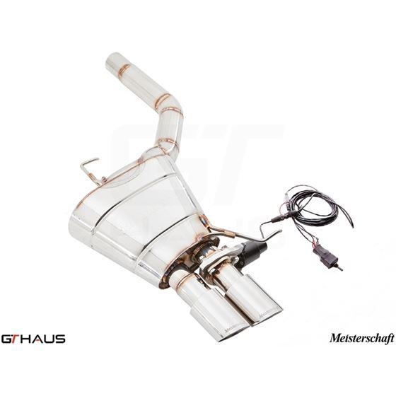GTHAUS GTC Exhaust (EV Control)- Stainless- BM1141