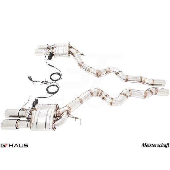 GTHAUS GTC Exhaust (EV Control)- Stainless- BM16-3