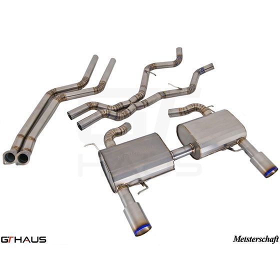 GTHAUS GT Racing Exhaust- Titanium- BM0422202