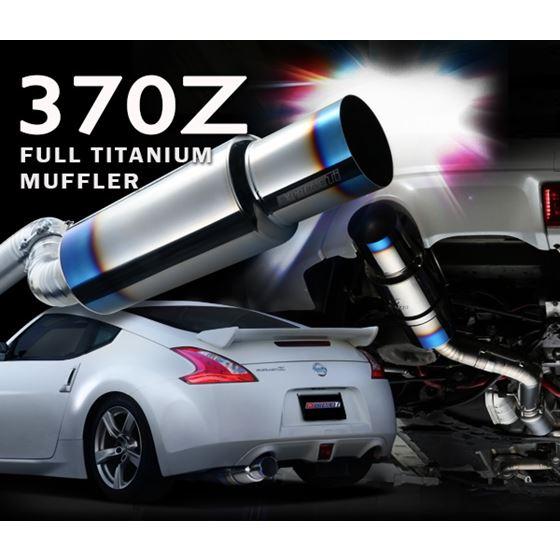 FULL TITANIUM MUFFLER KIT EXPREME Ti Z34 TB6090 NS02A 1