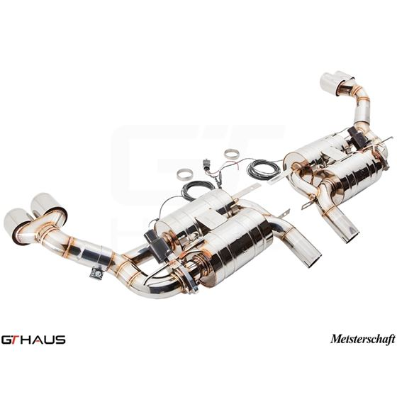 GTHAUS GTC Exhaust (EV Control)- Stainless- BM23-3