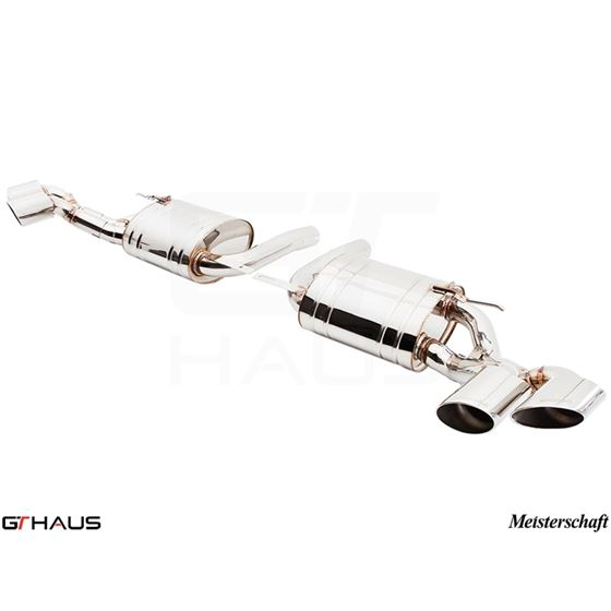 GTHAUS HP Touring Exhaust- Stainless- BM2411103-3