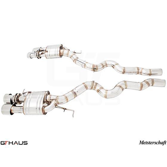 GTHAUS Super Light GT Racing Exhaust (Ti Rear Unit