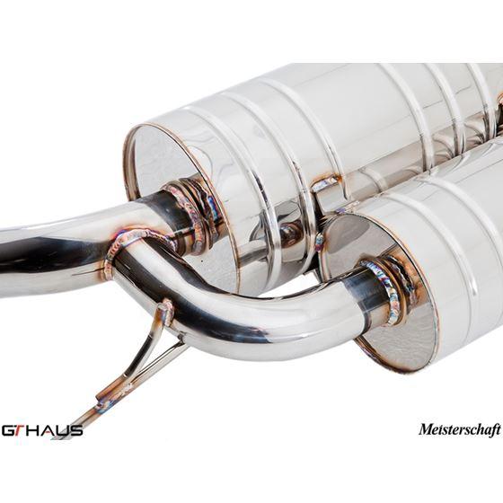 GTHAUS GT Racing Exhaust- Titanium- BM0912201-3