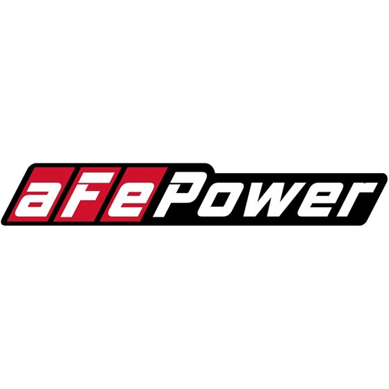 aFe POWER Motorsports Contingency Decal; Square (4