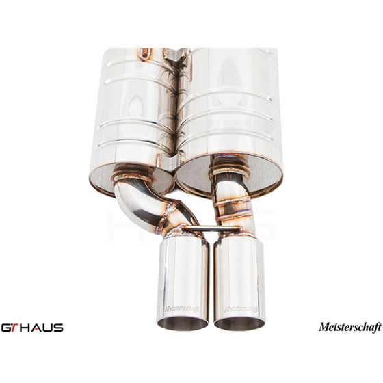 GTHAUS GT Racing Exhaust- Stainless- BM0731222-3