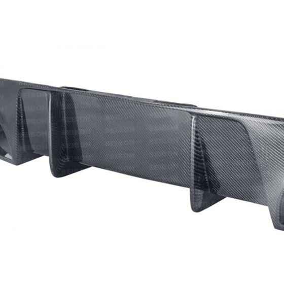 Seibon SP-style carbon fiber rear lip spoiler fo-3